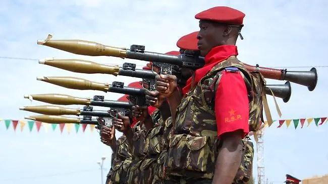 Exército do Burkina Faso (http://www.armyrecognition.com)