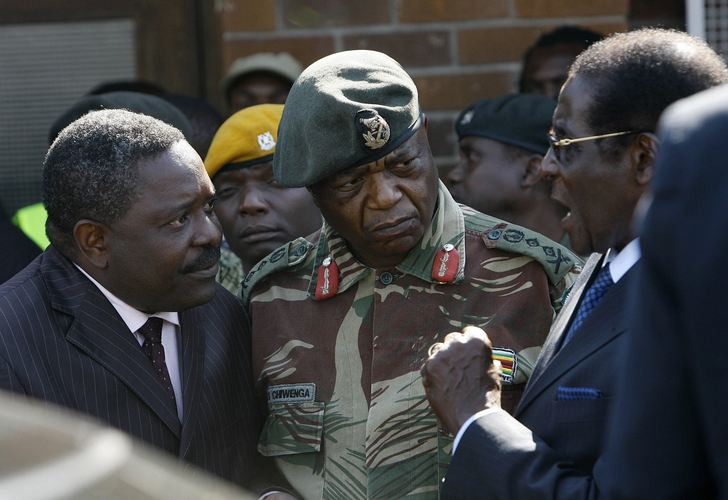 Zimbabwe Army ranks land ground forces combat field