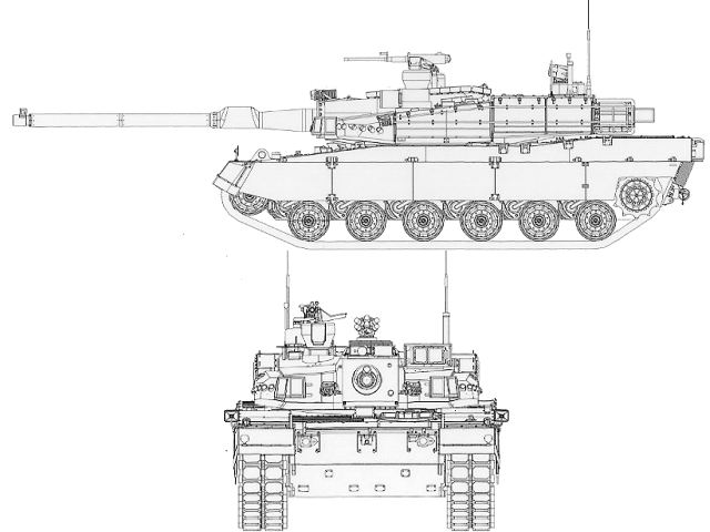 K2 Black Panther Main Battle Tank MBT data pictures video
