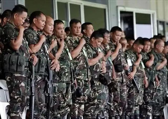 Philippines Philippine Army ranks military combat field uniforms dress grades uniformes combat