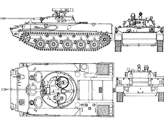 BMD-3 airborne armored infantry fighting vehicle technical