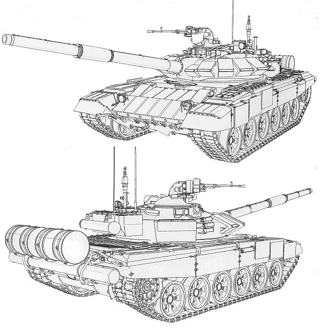 T-72B3 MBT main battle tank Russia data pictures video