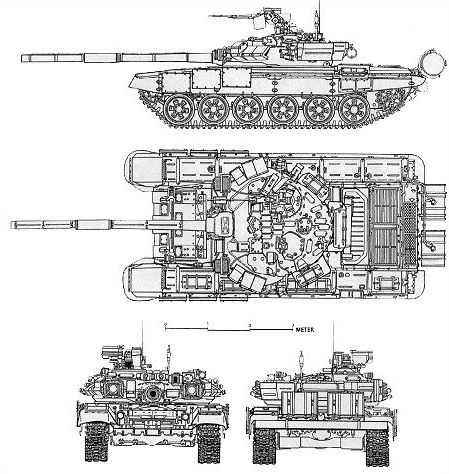 T-90S main battle tank MBT technical data Russia pictures
