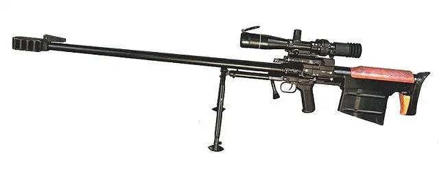 6s8 6s8-1 12.7mm Degtyarev sniper rifle technical data