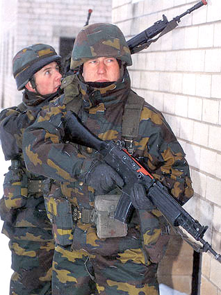 Ranks combat fied uniforms soldiers Belgian land forces ground army Belgium technical data sheet