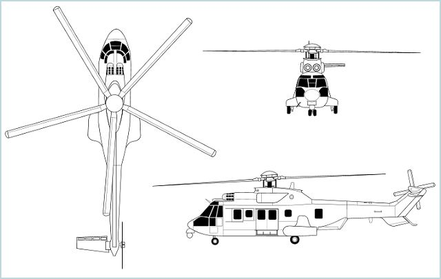 EC725 Caracal Super Cougar long-range tactical transport