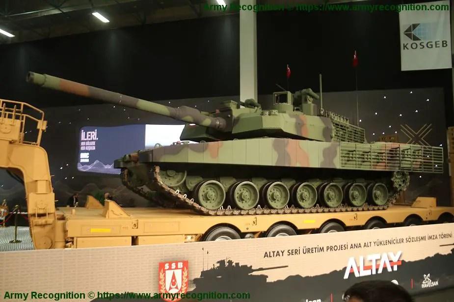 IDEF 2019年第14屆土耳其國際防務展覽:土耳其BMC公司展出新型Altay T1戰車 @ 阿棟的部落格 :: 痞客邦