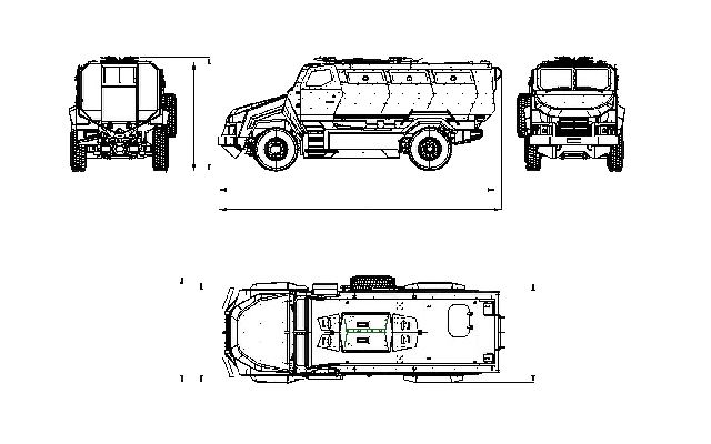 Kirpi BMC 350 MRAP armoured vehicle personnel carrier data