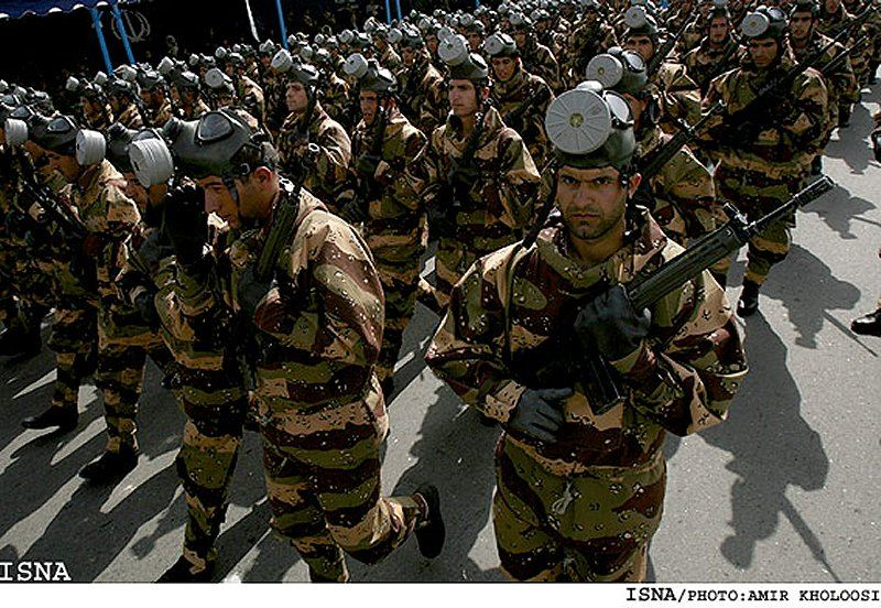Iran Iranian army ranks combat field military dress