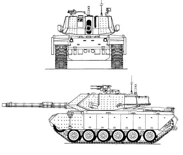 Magach 6 7 M60 main battle tank technical data sheet
