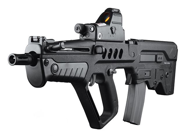 Image result for nigeria dss iwi tavor rifle on fire