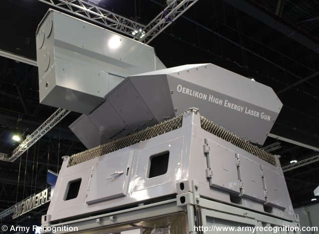 Rheinmetall air defence solutions showcased at IDEX 2015 in Abu Dhabi