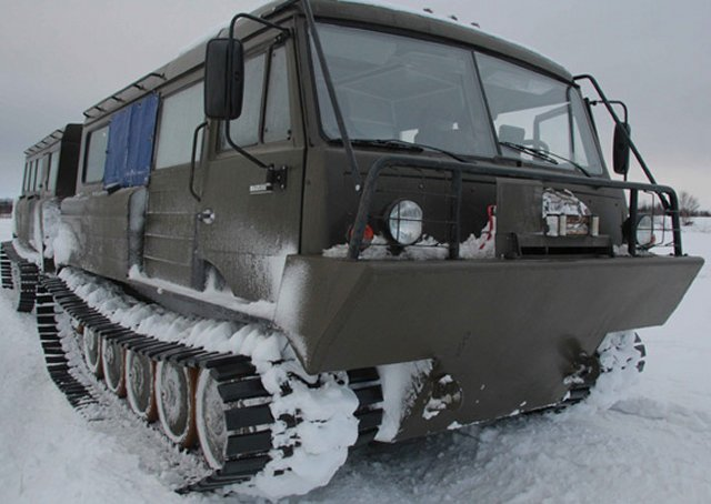 Russian Army Northern Fleet arctic brigade to receive new snow and swamp-going vehicles