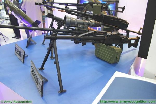 Analysis Russian machine guns available on the modern