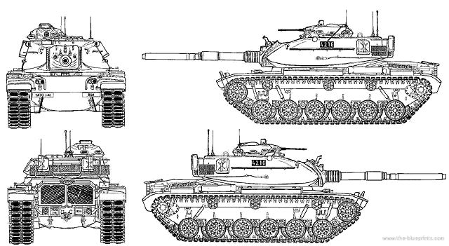 M60A3 MBT Main Battle Tank technical data pictures video