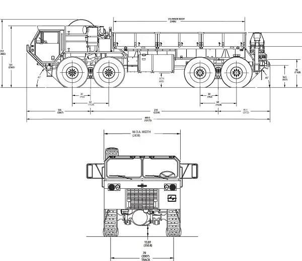 HEMTT M977 A2 LRPT Oshkosh heavy expanded mobility