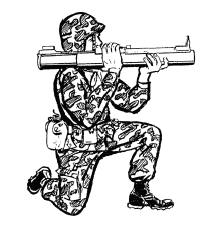 Firing Positions for the M72 Series LAW (ArmyStudyGuide.com)