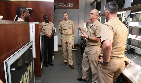 navy sees recruiting challenges