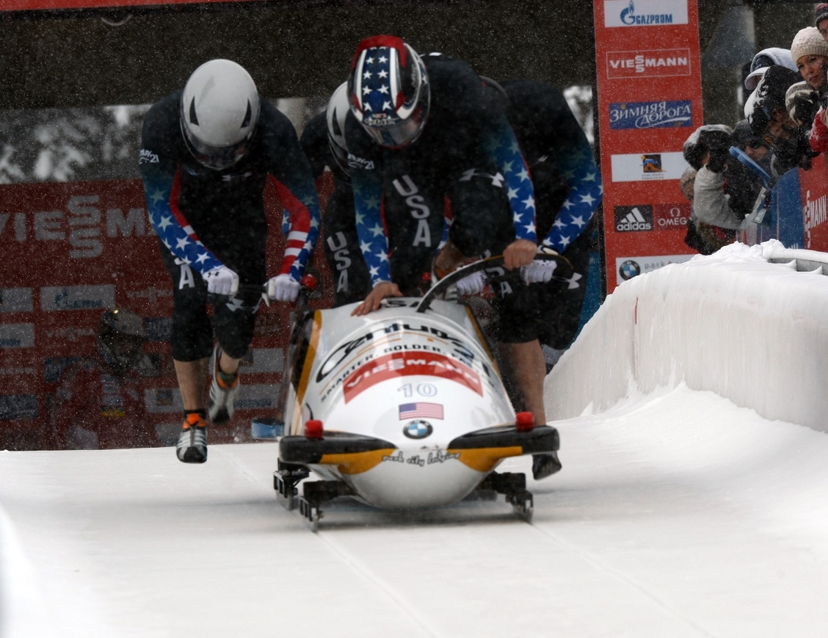 Army We Have A Bobsled Team
