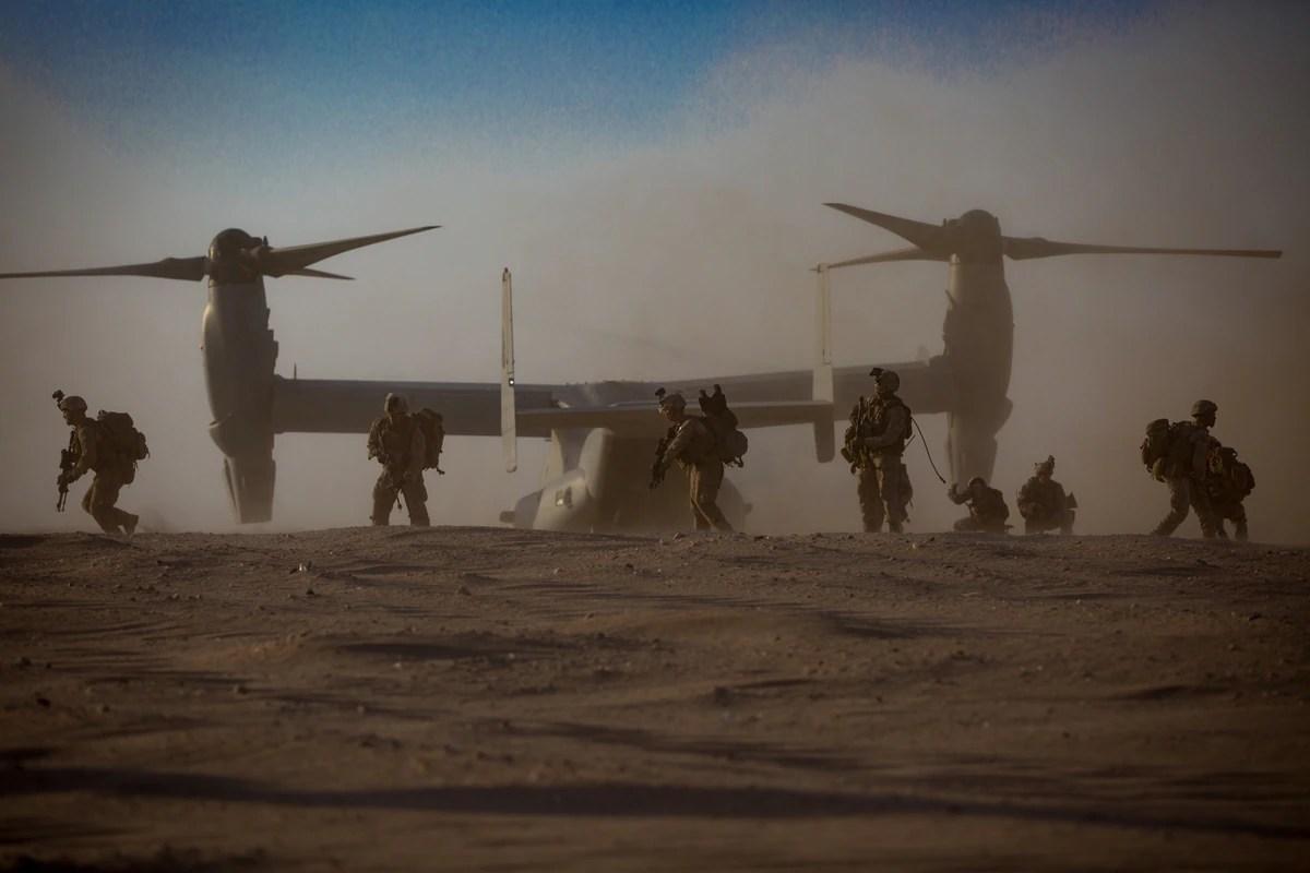one marine battalion covers