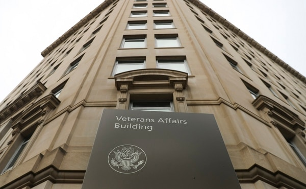 Veteran Affairs building near the White House in Washington is shown on Feb. 14, 2018. A federal court ruling could ease eligibility rules for thousands of injured veterans seeking disability benefits. (Pablo Martinez Monsivais/AP)