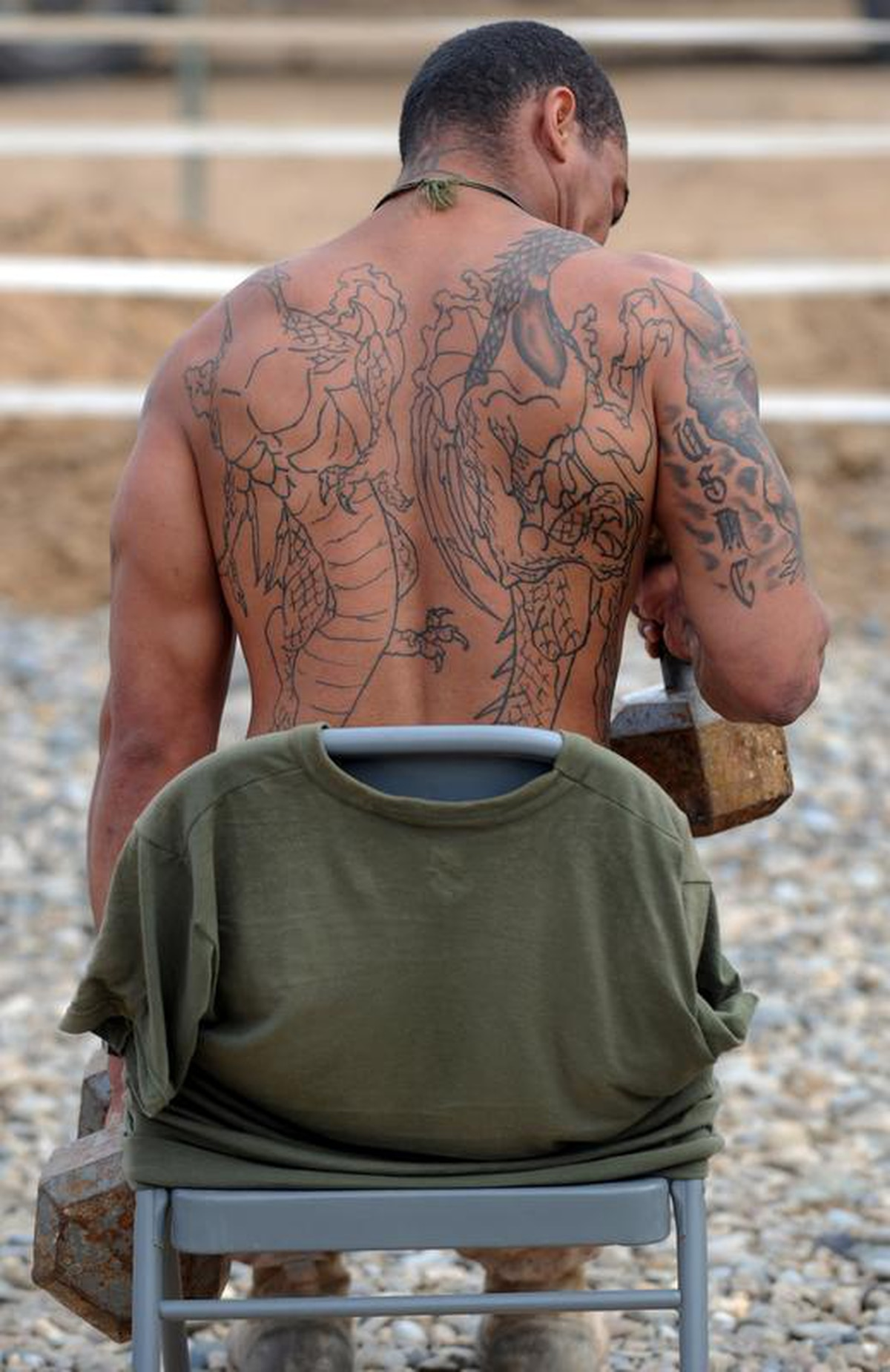 Marines Attending Resident Pme To Be Screened For Tattoos