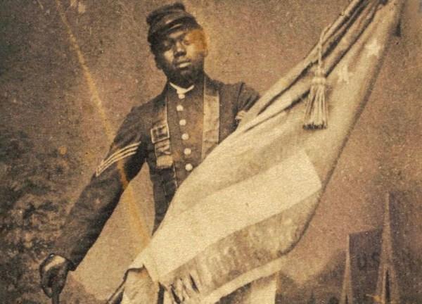 William . Carney Black Soldier Earn