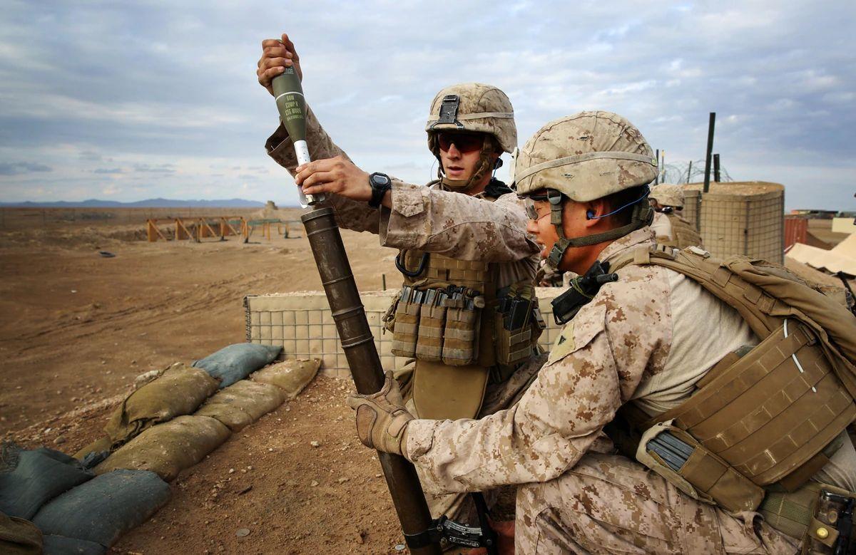 marines mortarman