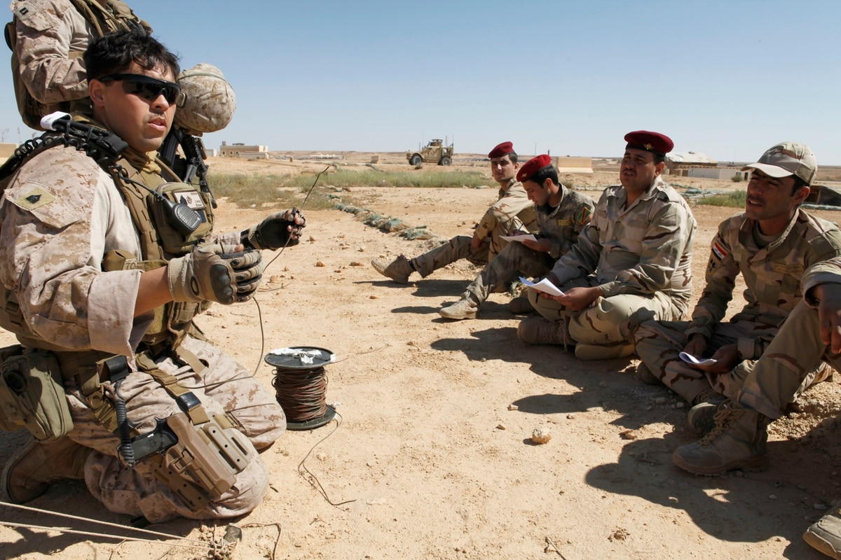 Marines Buttress Iraqi Forces To Defeat Isis