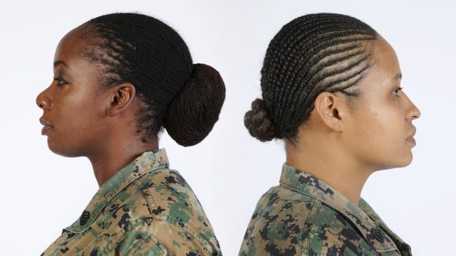 soldiers cheer army's decision to authorize dreadlocks in
