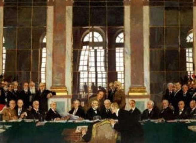 Συνθήκη Βερσαλλιών, 28 Ιουνίου