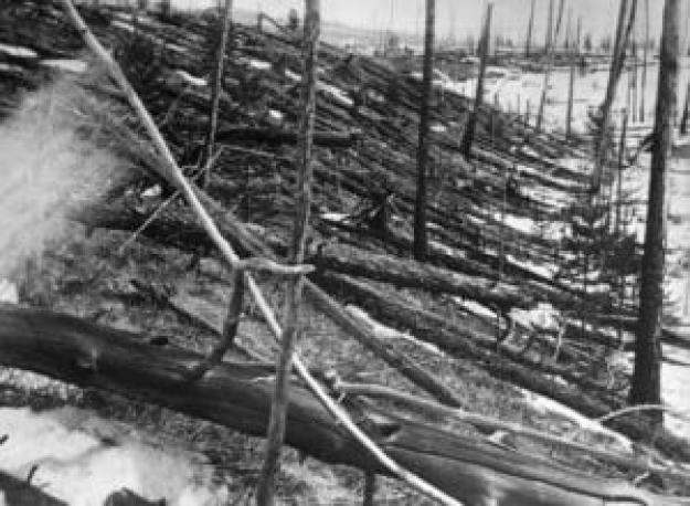 Έκρηξη Τανγκούσκα - Σιβηρία, 30 Ιουνίου
