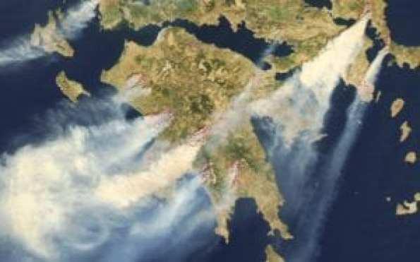 Πυρκαγιές-Πελοπόννησος, 24 Αυγούστου