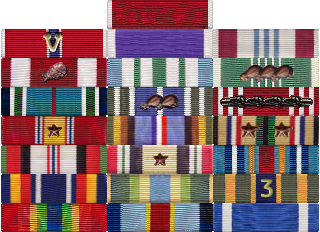 Army Awards And Service Medals