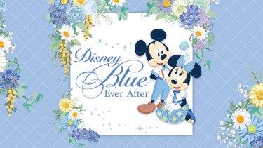 """東京ディズニーリゾートより""""しあわせのブルー""""をモチーフにした「Disney Blue Ever After」が登場!ギフトにもぴったりなロマンチックなアイテムが集合♡"""