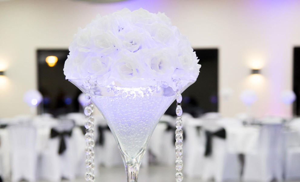 Dcoration de votre salle de mariage  Grenoble