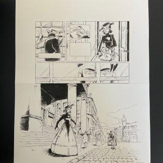 Planche noir et blanc Becky Stillborn #17