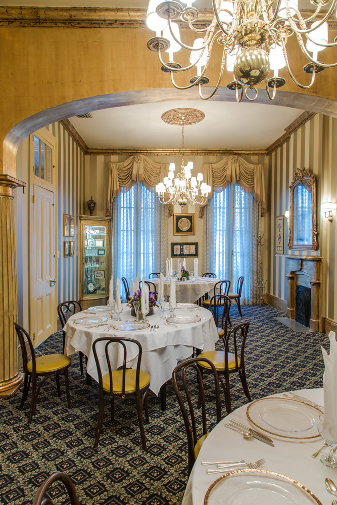 The Gold Room New Orleans Private Dining