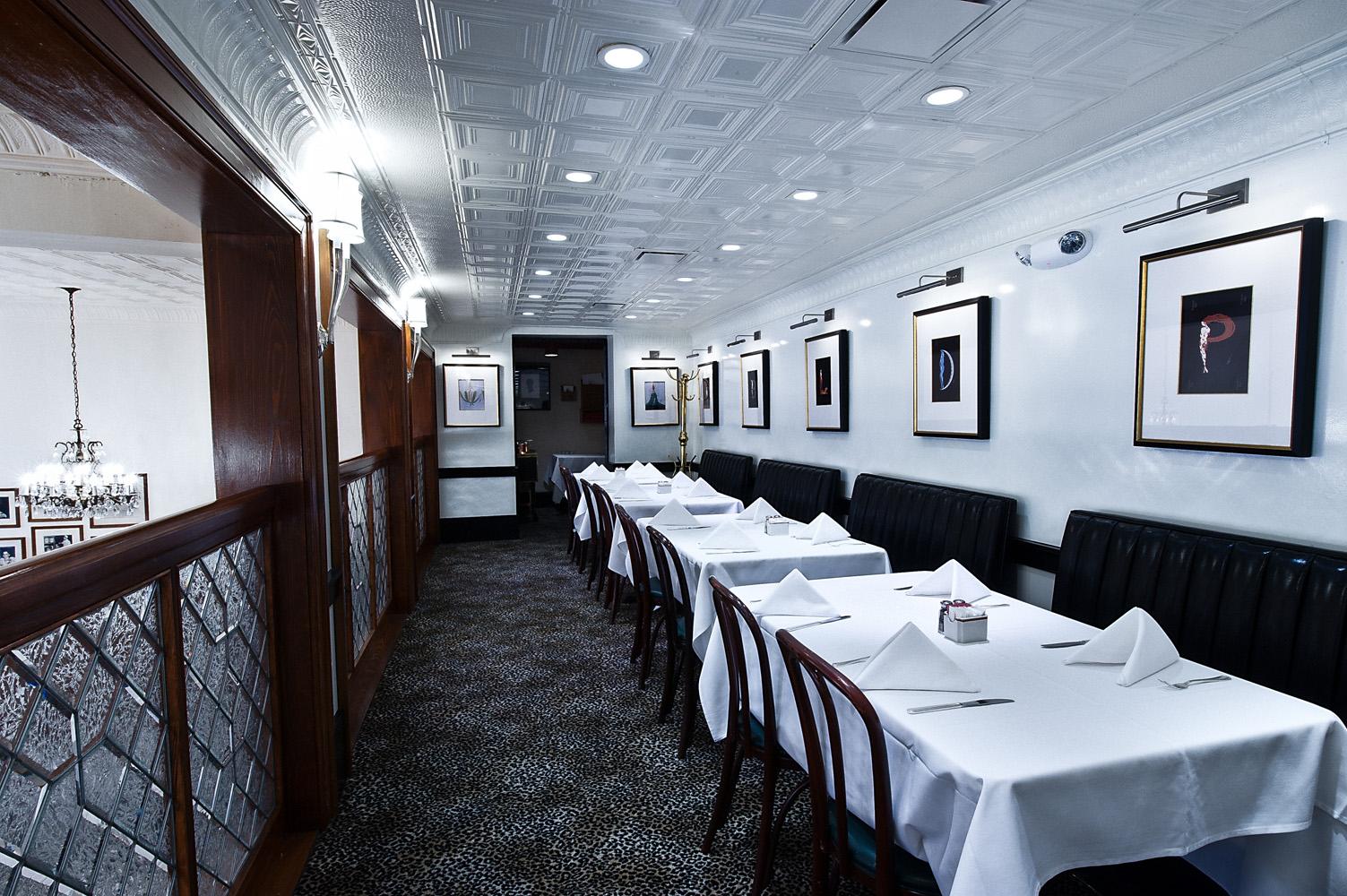 Semi Private Dining New Orleans Mezzanine Room