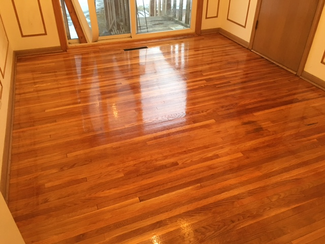Water Popping White Oak Floors  Arnes Floor Sanding