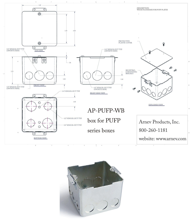 Ap Pufp Bc Floor Box Cover