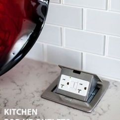 Pop Up Outlets For Kitchen Outdoor Tampa Ap-pufp-ct Counter Top Outlet Box | Gfci ...