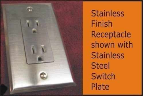 Stainless Steel Switchplates Light Switch Plates