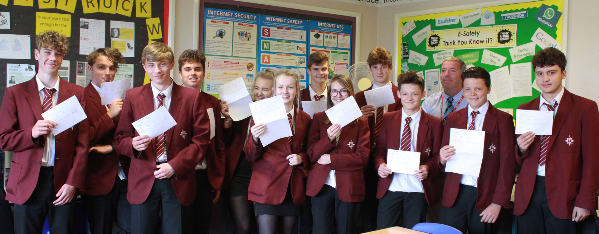 Most Successful Results In BTEC ICT The Arnewood School