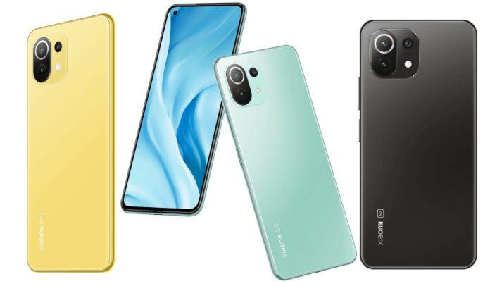 Mi 11 Lite 4G Xiaomi Mi 11 Lite 5G