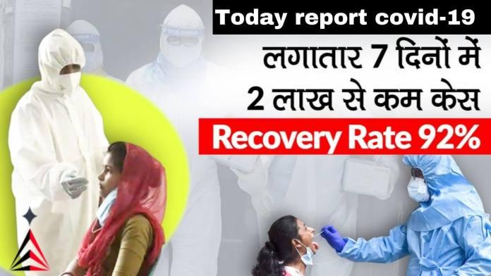 Today report covid-19