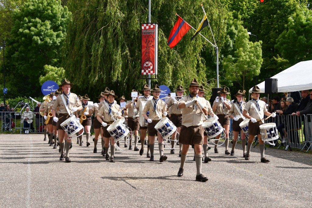 scouting muziek band marching
