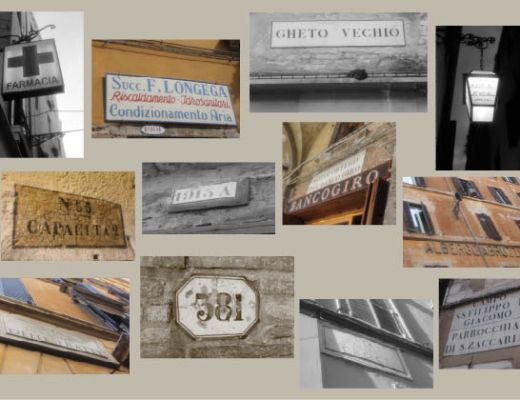 Italian signs mood board