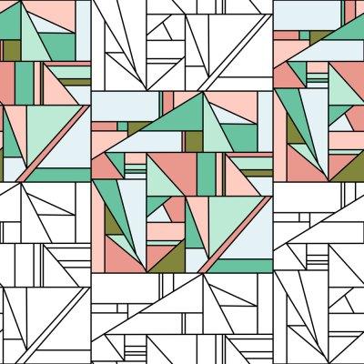 Geometric surface pattern designs