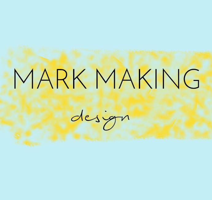 Mark making mood board design trends Arnold & Bird